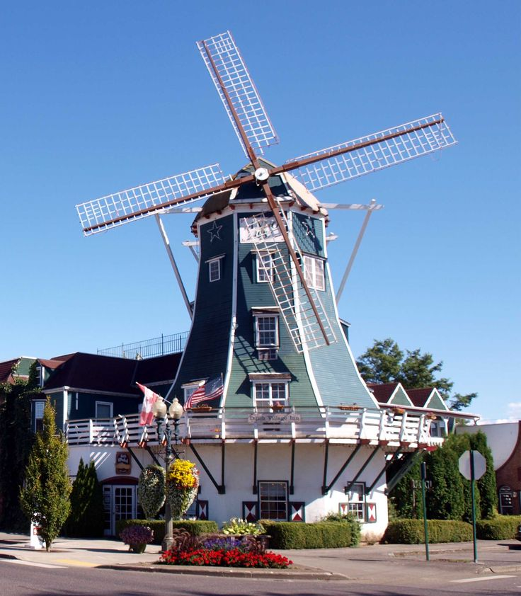 Lynden, Washington, A Quaint Dutch Town in the Pacific Northwest.  Whatcom County.
