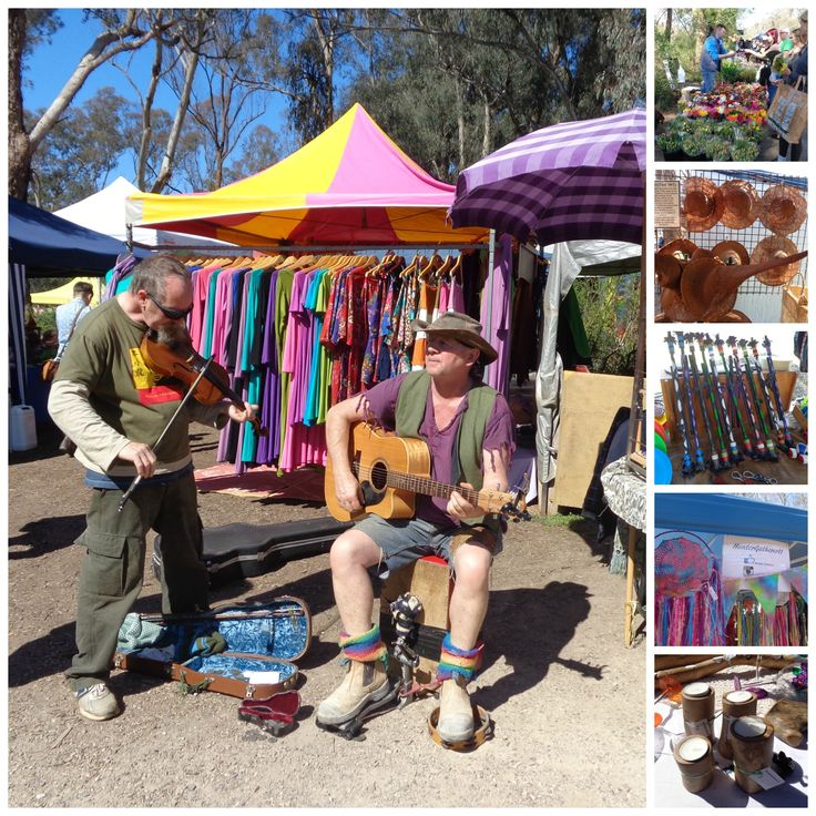 St Andrews Market held every Saturday - https://www.facebook.com/melbournemarkets/photos/pb.1482297238684617.-2207520000.1409545516./1490628534518154/?type=3&theater