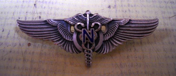 WWII Flight Nurse Wings...awesome!