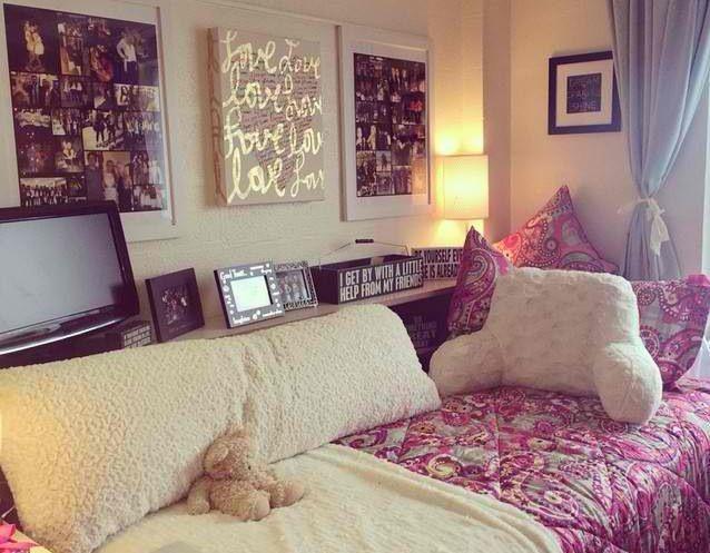 20 dorm room inspirations
