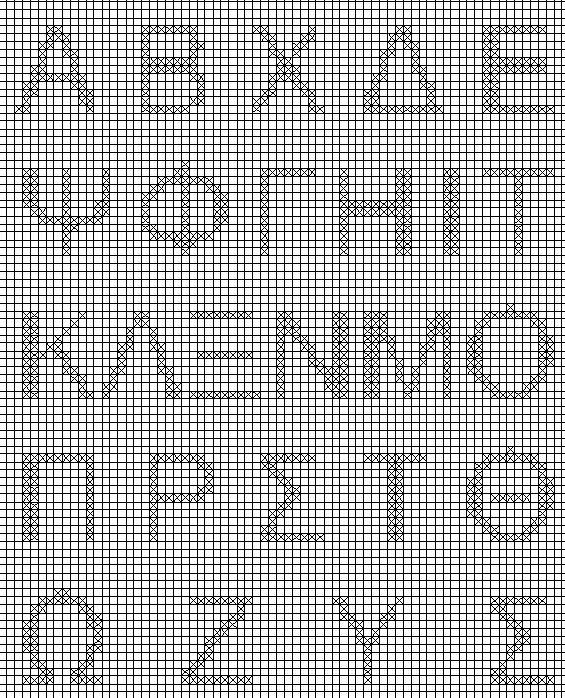 Grieks alfabet 4  hoofdletters