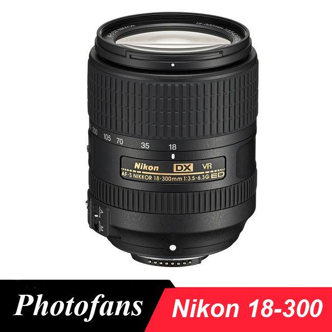 Nikon 18-300 <b>lens Nikkor AF</b>-<b>S</b> DX <b>18</b>-<b>300mm</b> f/3.5-6.3G ED VR ...