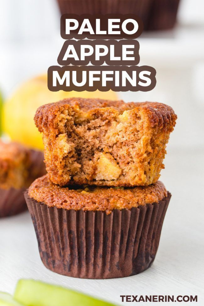 Paleo Apple Muffins That Are Completely Maple Sweetened These