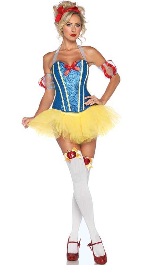 Sultry Sequin Snow White Costume