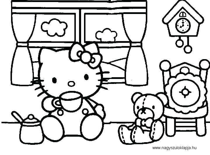 Baby Hello Kitty Coloring Pages Kitty Coloring Pages Baby Cat Hello Kitty Coloring Hello Kitty Colouring Pages Kitty Coloring