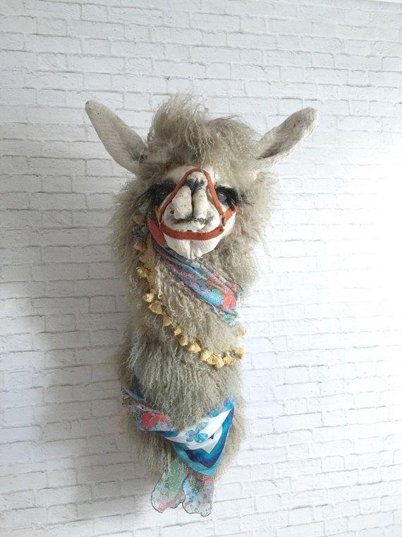 Hey, I found this really awesome Etsy listing at https://www.etsy.com/il-en/listing/260074209/tish-llama-bohemian-faux-taxidermy