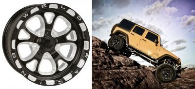 WELD REKON F58 is a Lightweight and Tough Wheel for Off-Road Applications