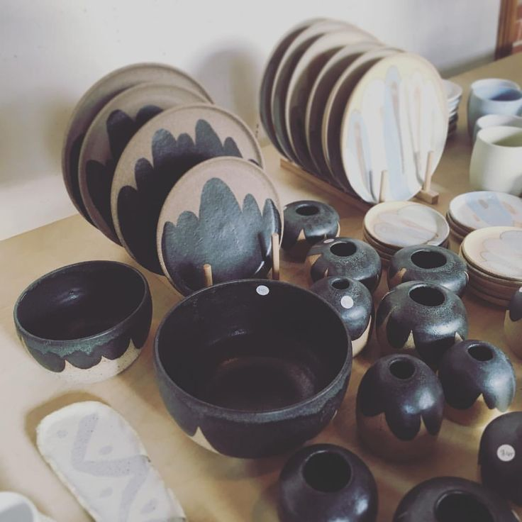 """84 Likes, 2 Comments - @coffeepeddlr on Instagram: """"// Our friend @clay_by_tina has these beautiful handmade pieces, and more, available at her…"""""""