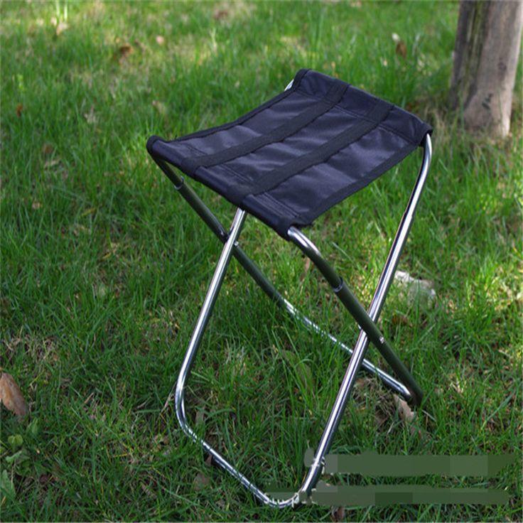 DHL Freeshipping 20pcs Portable folding fishing chair aluminum alloy beach chairs