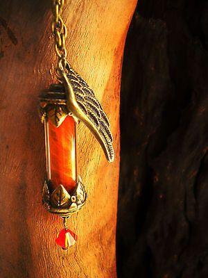 Phoenix Down - Final Fantasy Necklace - Phoenix Potion - Final Fantasy Jewelry