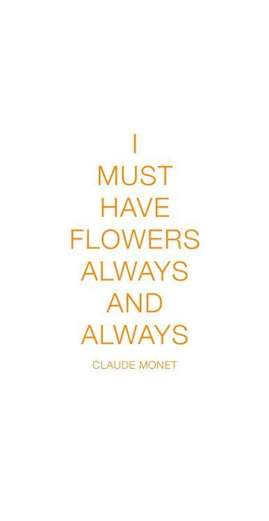 ~Claude Monet