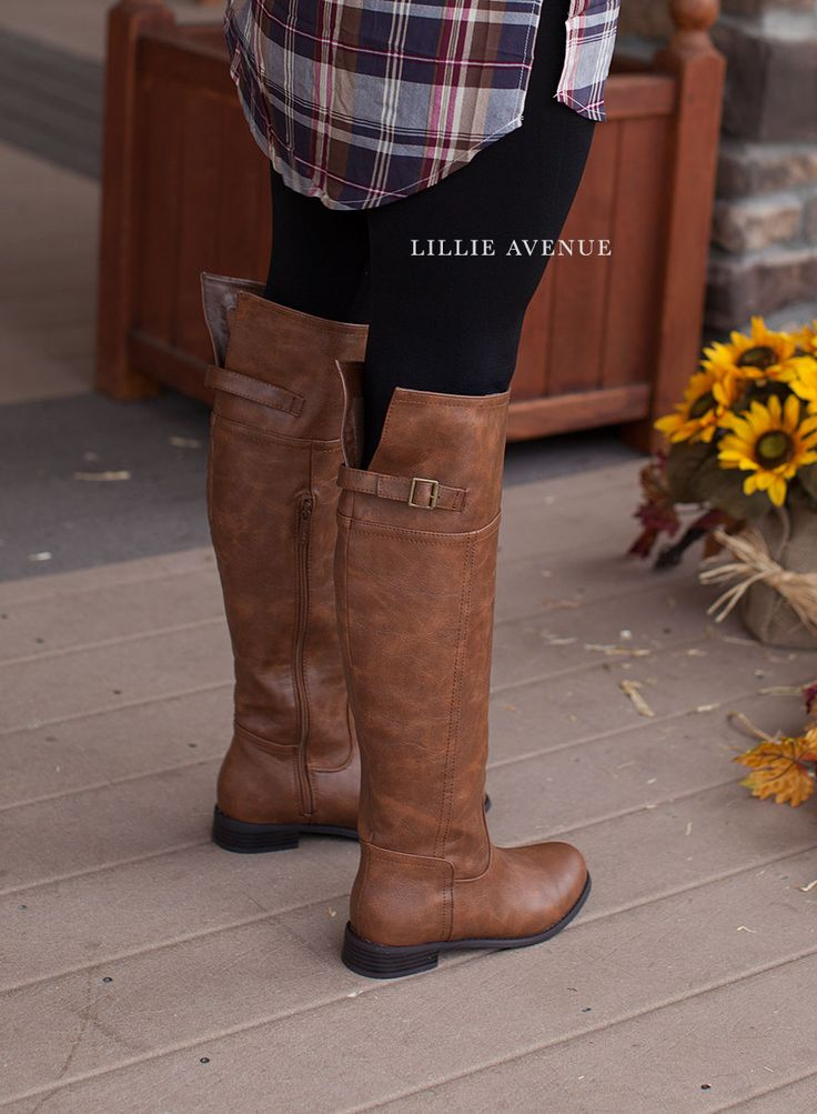 Harvest Tall Brown Boots