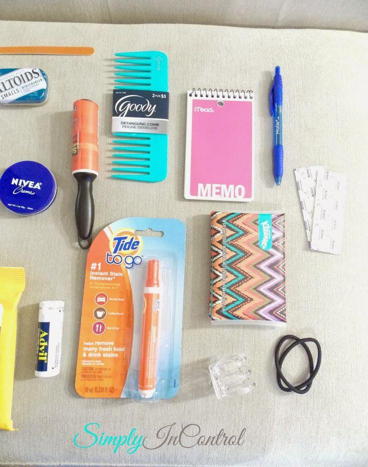Purse Essentials - Part 2. Detailed list in blog post!