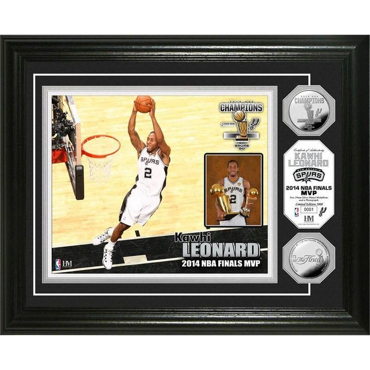 San Antonio Spurs 2014 NBA Finals MVP Coin Photo Mint