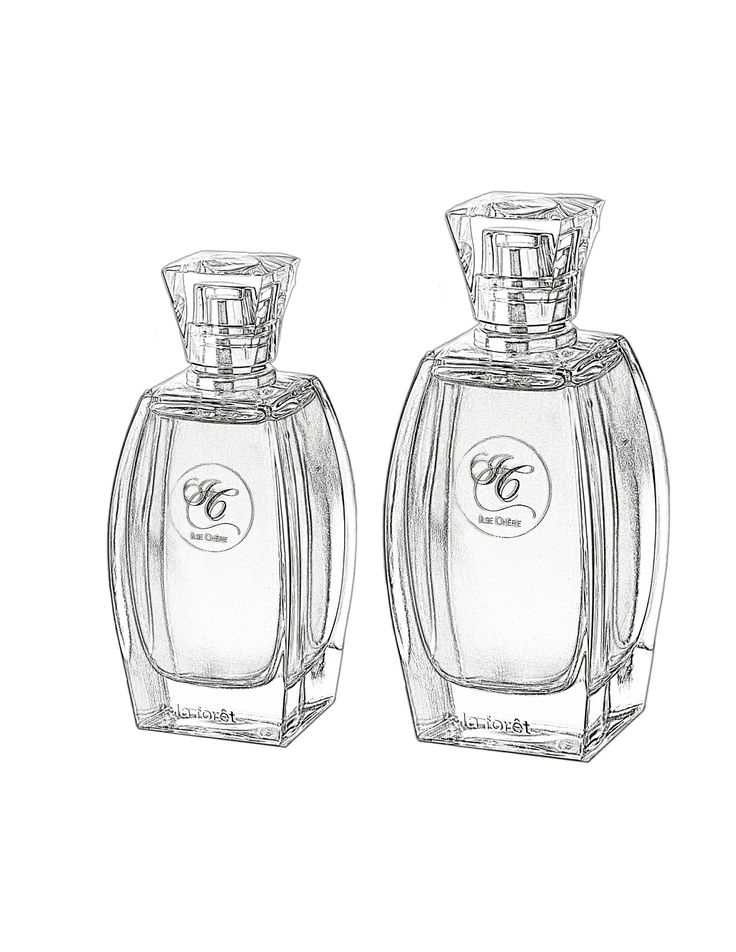Ilse Chérie existe en dos tamaños, vaporizador de Eau de Parfum 50 y 100 ml