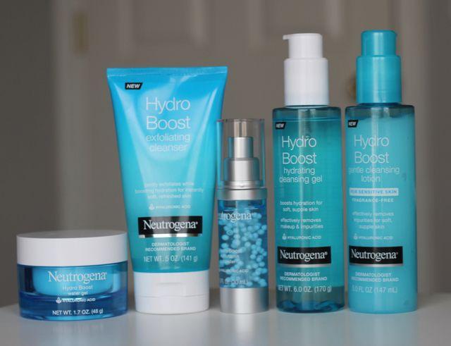 Skincare Routine For Dry Skin Neutrogena Hydro Boost Line Neutrogena Skin Care Organic Skin Care Brands Dry Skin Care