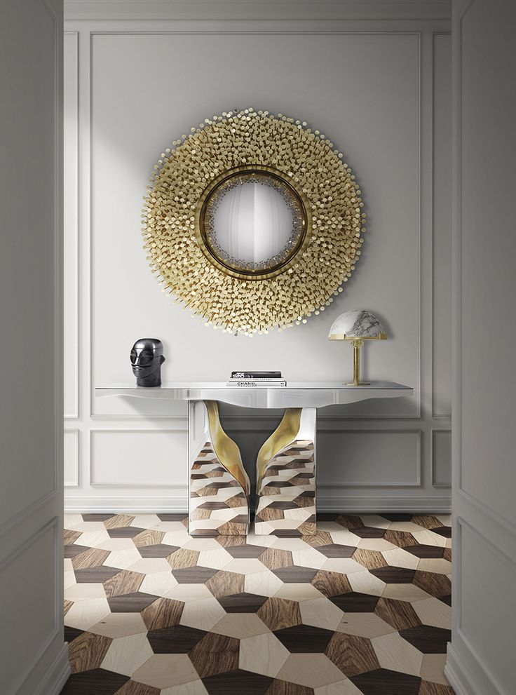 ... Embodies The Strength And Character Of Noble Ages, Giving Them A Modern  Approach To Your Entry Way. Try To Combine It With The Mirrored Lapiaz  Console.
