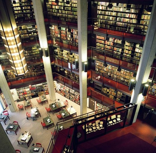 The Thomas Fisher Rare Book Library is a library in the University of Toronto