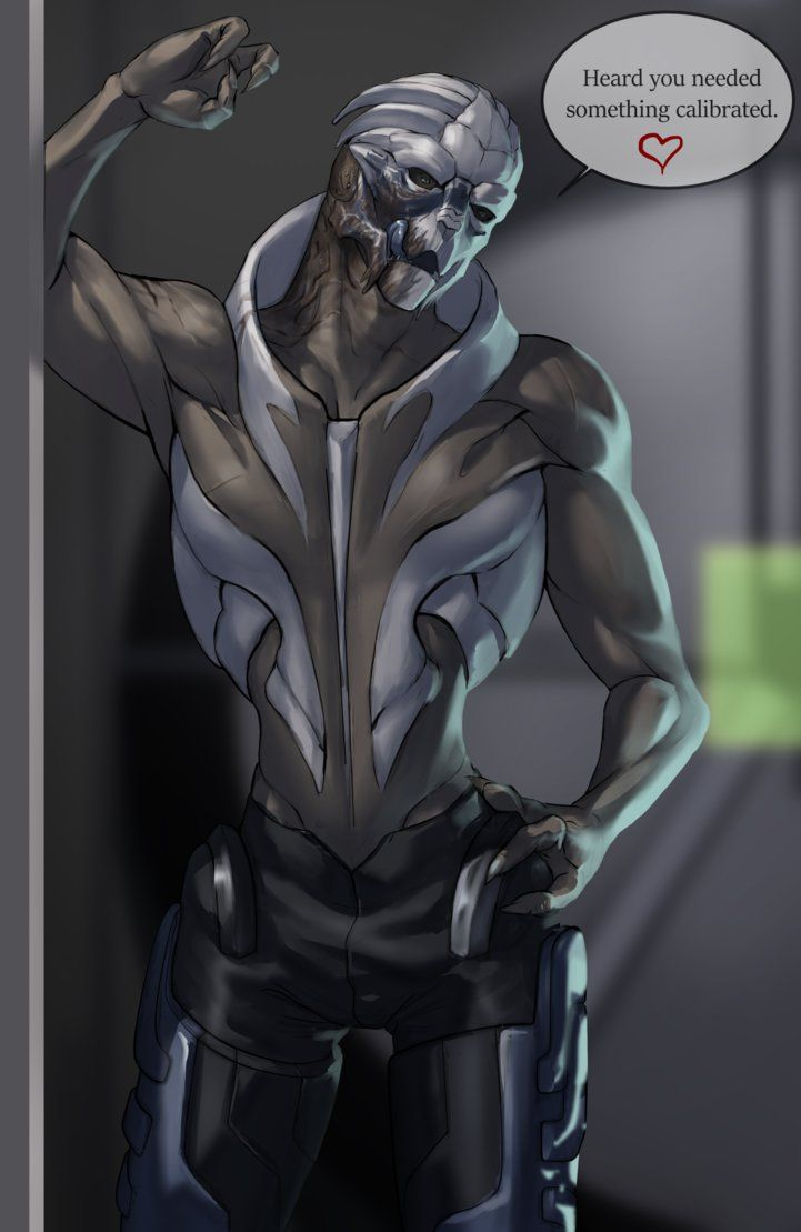 Garrus Dating Simulator Iv