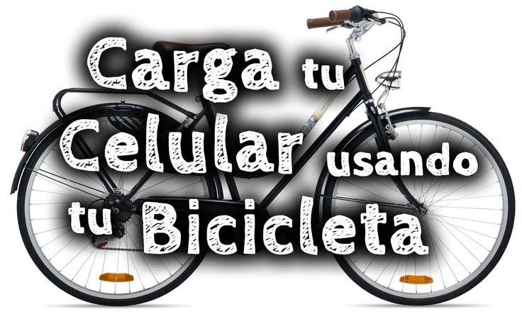 Cómo cargar tu smartphone mientras montas en bicicleta.