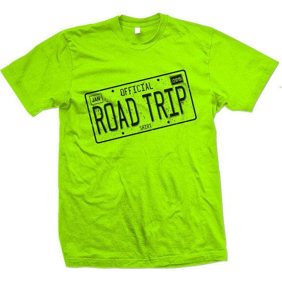 Great Road Trip Ideas: Official Road Trip Shirt 2015