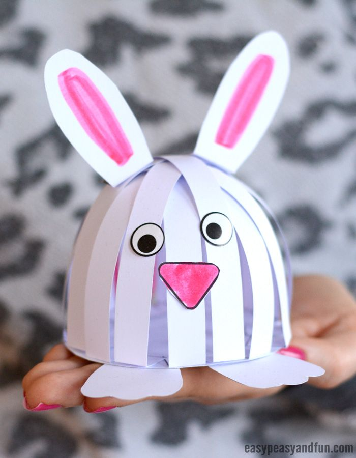 Simple Easter Construction Paper Craft Construction Paper Crafts