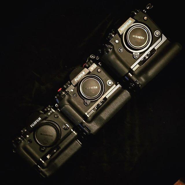 Progression... Fujifilm XT1 -> XT2 -> XH1 - #fujifilm #fujifilm_uk #fujifilm_xseries #fujifilmxh1 #fujifilm_xh1 #xh1 #fujifilm_x_h1 #cameraporn #gearporn #camera #xphotographer #xphotographers #newcamera #unboxing #photography #inmybag #breakingnews #outnow #new #xseries #fujixh1 #fujixseries