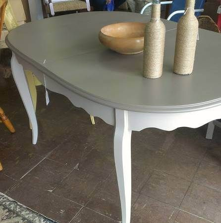 Gray dining table 195 shades of gray pinterest gray for Dining table nashville tn