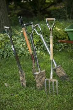 How to break up lawn soil