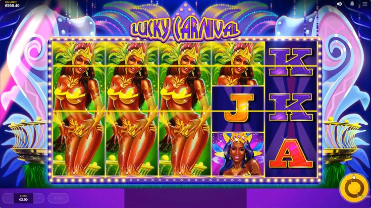 Lucky Carnival Slot Machine