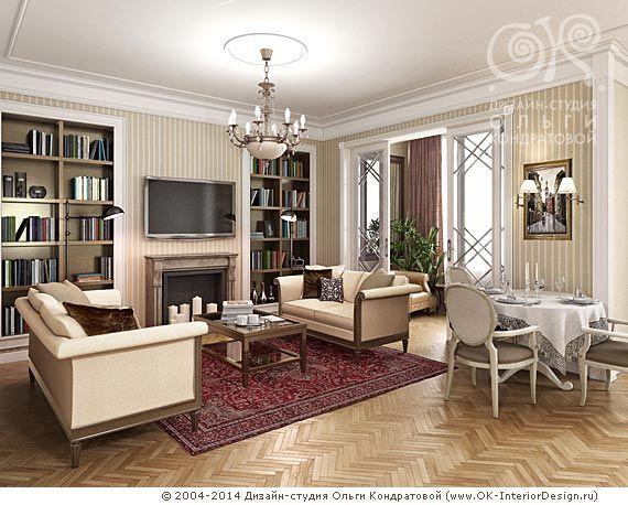 интерьер гостинной с темно-вишневой мебелью - Поиск в Google