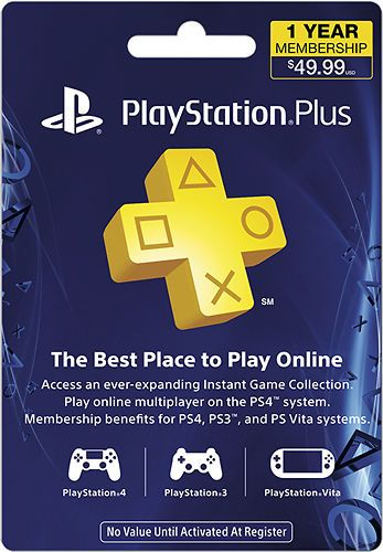 Sony PlayStation Plus 12 Month Membership for $40 http://sylsdeals.com/50-sony-playstation-store-gift-card-for-only-45-email-delivery/