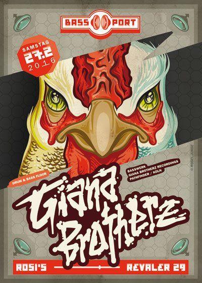 RA: Bassport Feat. Giana Brotherz at Rosi's, Berlin