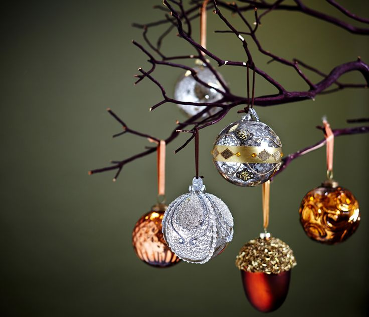 Deck your halls with sparkly baubles from Paul Costelloe Living