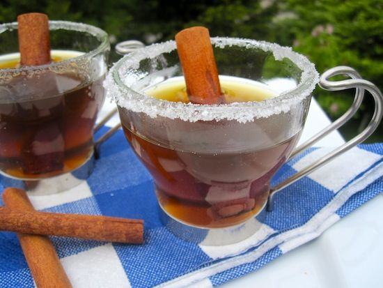 Canelazo (Sugar Cane and Cinnamon Hot Drink)