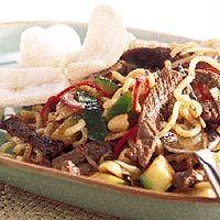 Recept - Roergebakken biefstuk in pepersaus - Allerhande