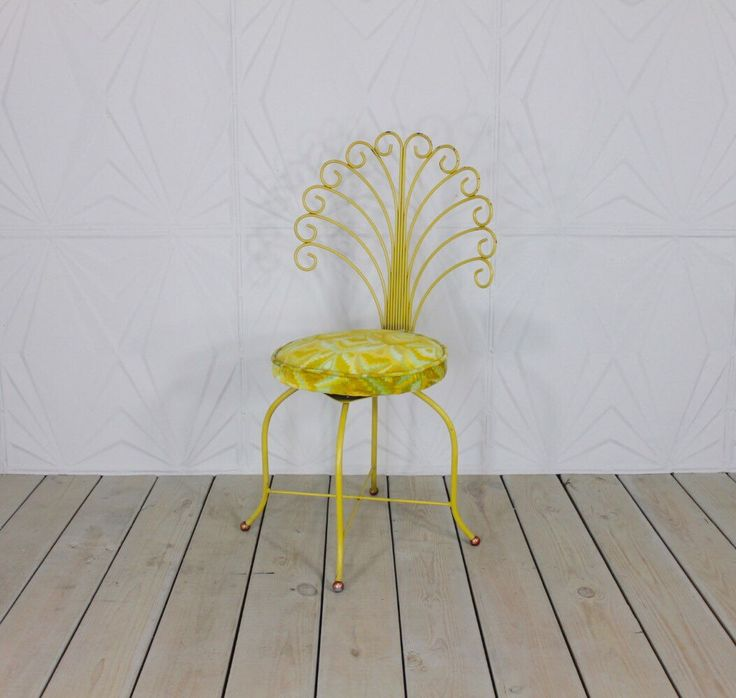 Glamorous Yellow Vanity Chair Pictures - Best image 3D home ...