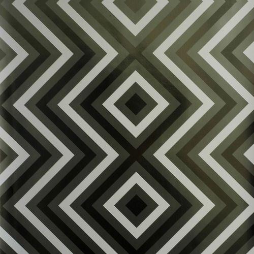 'Ziggy Diamond Wallpaper by Flavor Paper. @2Modern'
