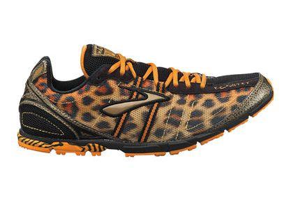 Leopard Print Brooks Running Shoes