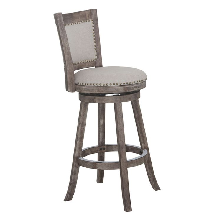 Melrose Swivel Barstool With Back Bar Stools Pinterest