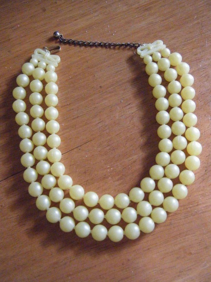 102 Best Vintage Plastic Pop Beads Images su Pinterest-1306