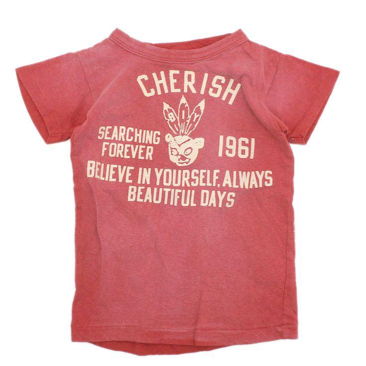 DENIM DUNGAREE(デニム&ダンガリー):ビンテージテンジクCOOL STAR Tシャツ 5R赤 の通販【ブランド子供服のミリバール】