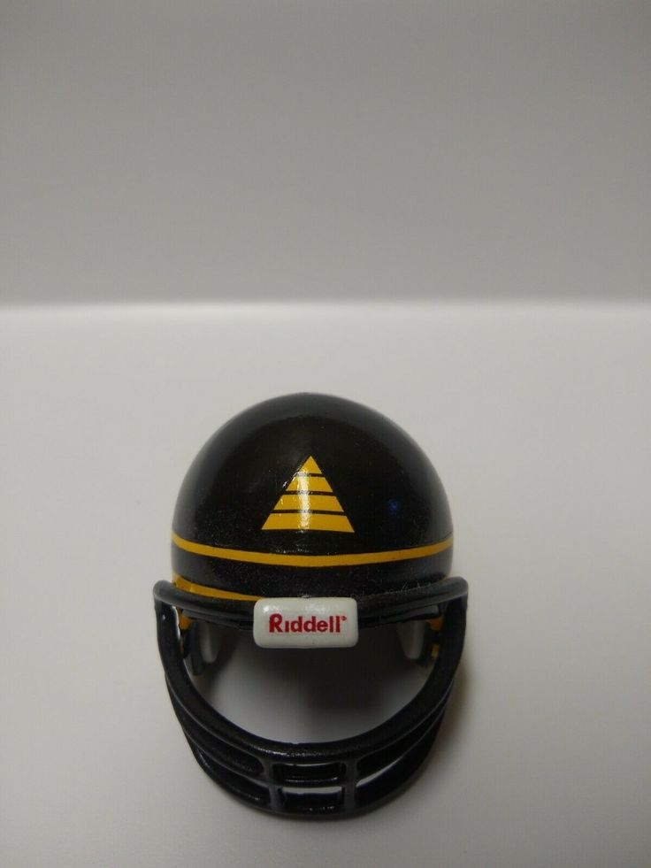 Arena football custom pocket pro helmet memphis pharaohs