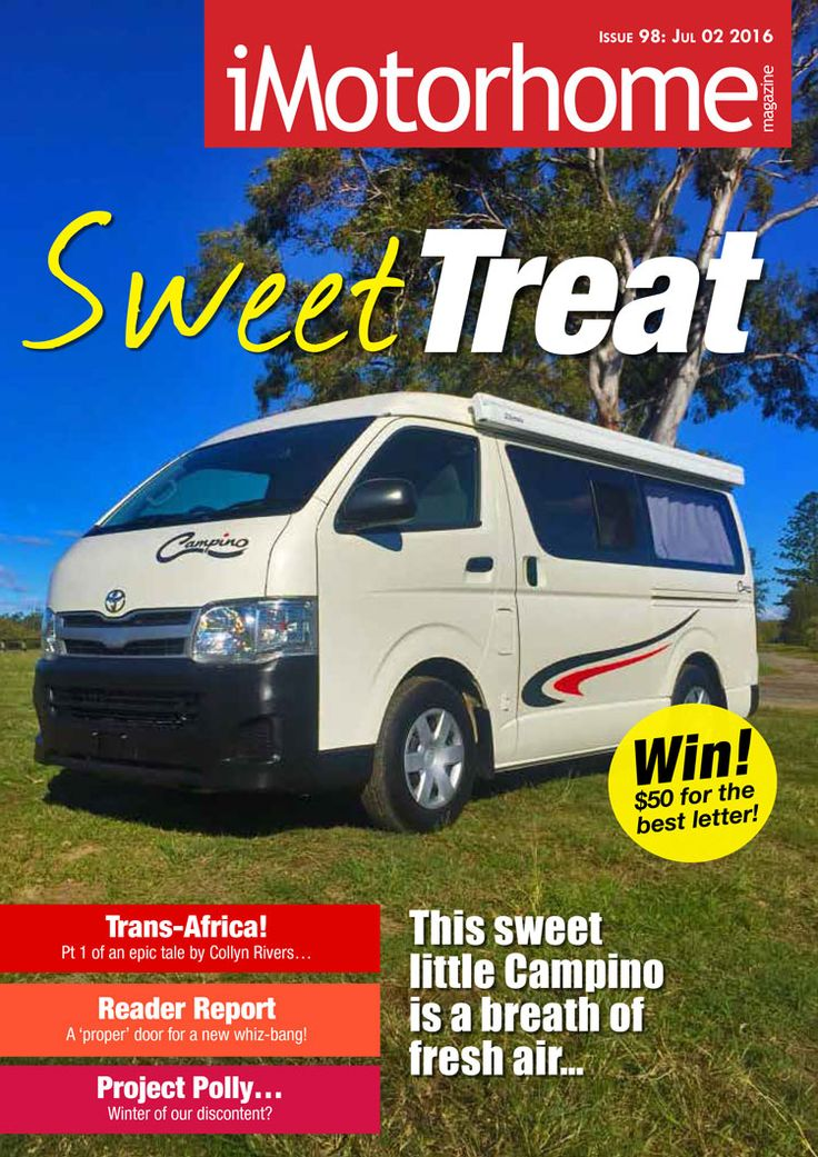 Issue 98 tests the all-new Campino campervan (and much more)!. Check it out now