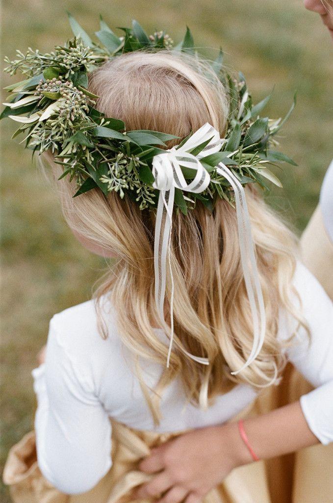Flowergirl - Isabel & James | Rustic Elegant Wedding at Inn at Old Virginia captured by Sarah Jane Winter - via Snippet & Ink