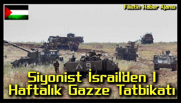 İşgalcilere ait bir sitenin haberine göre tatbikat iç cephe, kurtarma ekipleri ve acil durum ekiplerini kapsayacak.  İşgal ordusu muhtemel çatışmalara hazırlık için zaman zaman Gazze sınırında tatbikatlar yaparak, askerlerini eğitiyor.   #filistin haber #filistin israil #israil gazze #israil ordu #israil ordusu gazze tatbikat #israil tatbikat