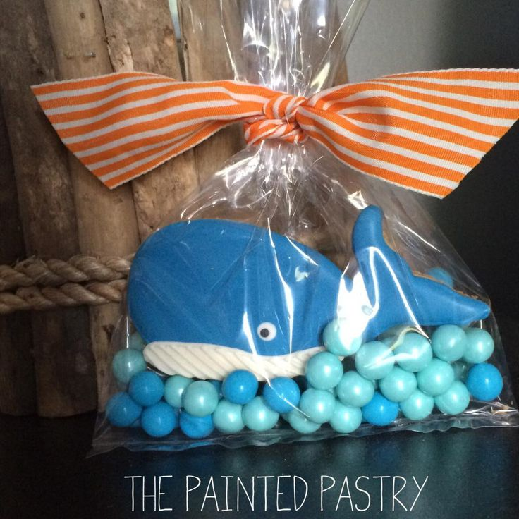 Whale Party Favors! | Cookie Connection