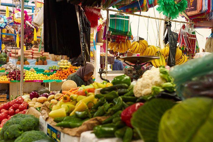 Mercado San Juan de Dios, one of the two main markets in San Miguel de Allende, Mexico.  #travel #mexicanfood
