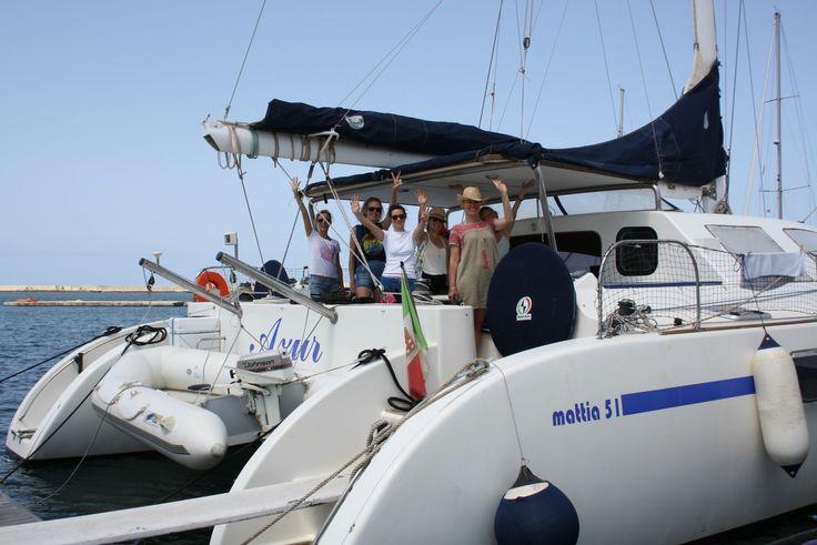 Yoga retreat in catamarano