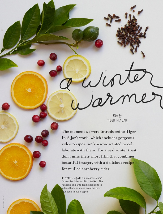 Anthology - 2011 Winter Gift Guide - Page 24-25 #layout #design